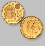 500 Pesetas de la Antigua Moneda Española - Money Made in Spain