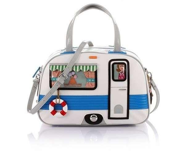 Collezione borse Braccialini Primavera Estate 2013 - Handbag a forma di roulotte