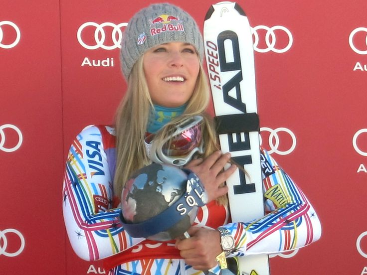 Champion Skier Lindsey Vonn -the best in the World