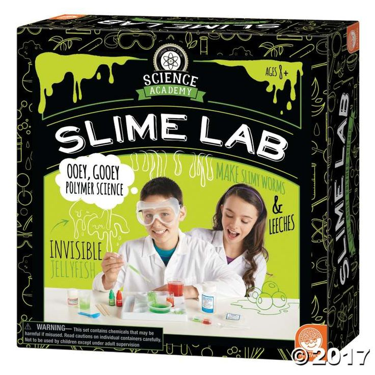 Get ready for ooey, gooey, slime-splatting polymer science with the Science Academy's Slime Lab! Slimy stuff is EVERYWHERE! Our bodies make slime, ...
