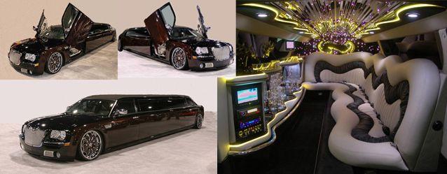 Our very popular Super Stretch Chrysler 300C