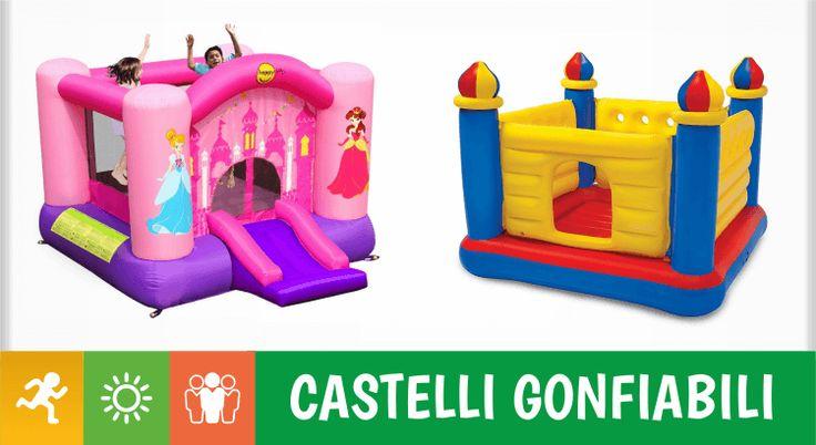 11 castelli gonfiabili per far saltare di gioia i vostri bambini Avere una rete elastica nel giardino probabilmente è il sogno di ogni bambino, ma come si fa quando la voglia di saltare è tanta e lo spazio a disposizione per farlo è poco oppure, pur avendo spazio,