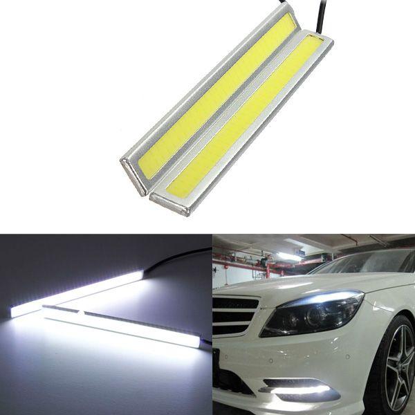 12V Waterproof Car LED Lights DRL Fog Driving Lamp