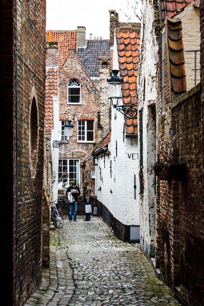 Lost in Bruges, Belgium by mym #bruges #belgium #belgique