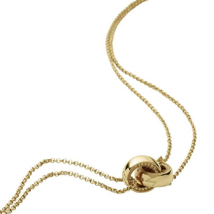 DKNY Kette für Damen NJ1797040 aus der Serie Trimmed Metal hier online bestellen
