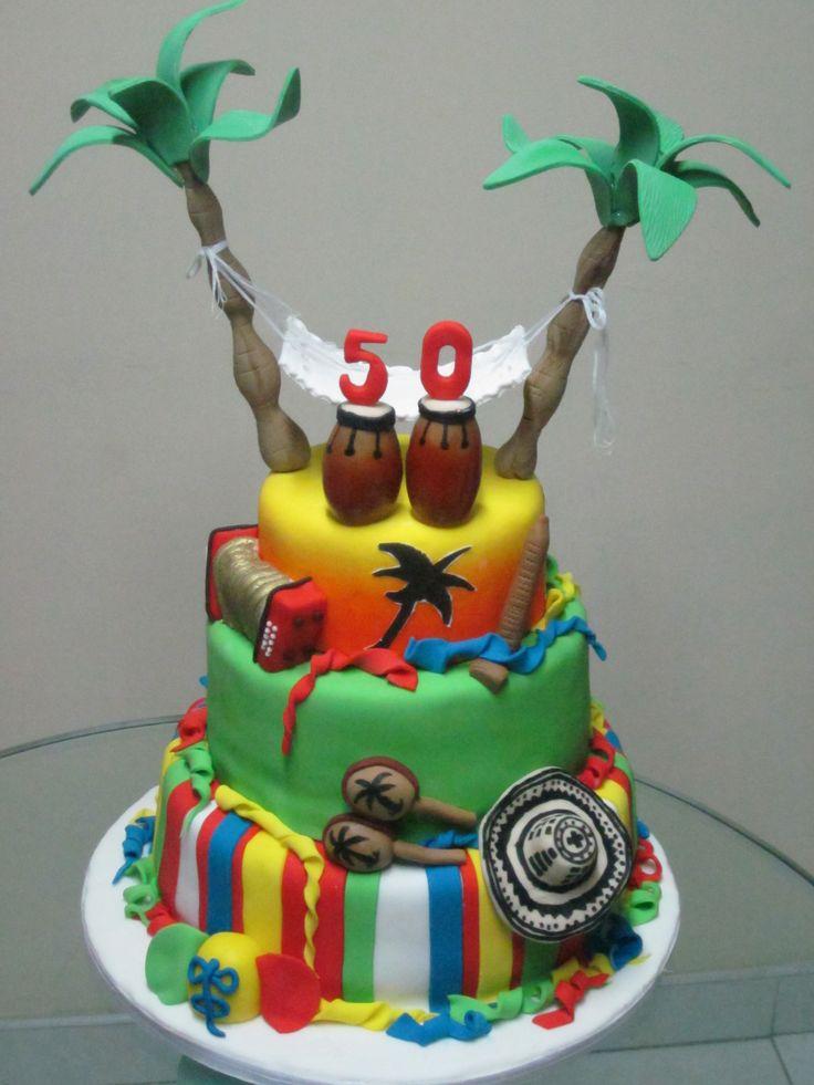 Tropical Cakes