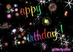 glitter birthday images | Glitterfy.com - Happy Birthday Glitter Graphics | Facebook, Tumblr ...