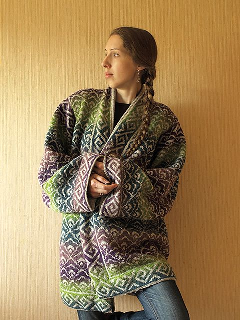 Ravelry: Project Gallery for Jacket with Hat pattern by Betty Hermansen