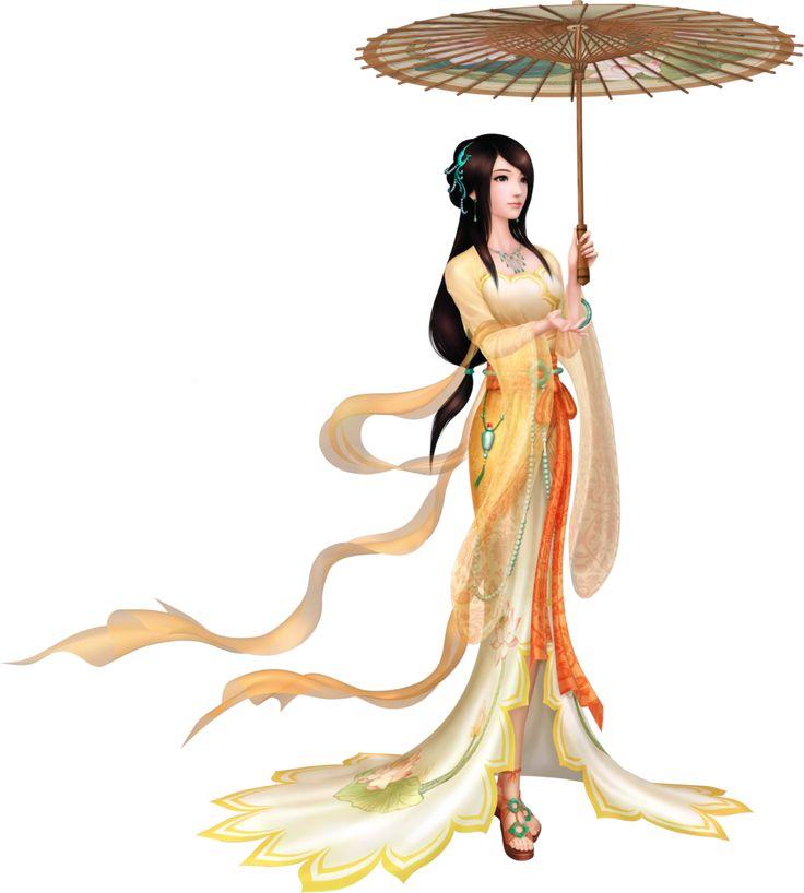 Дама и зонт
