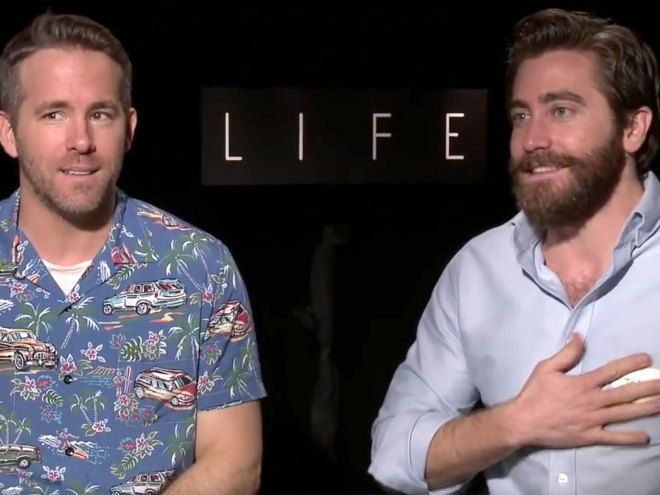 Watch Ryan Reynolds and Jake Gyllenhaal's Ridiculous, Hilarious and NSFW Life Interviews