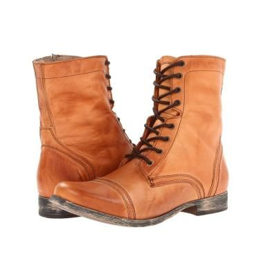 $71, Troopah2 Lace Up Boots Tan Leather by Steve Madden. Sold by Zappos.