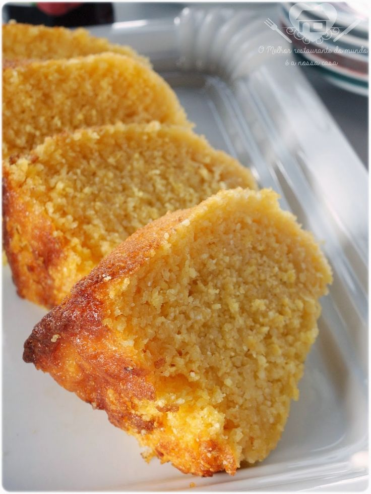 O tradicional e delicioso bolo de milho :P