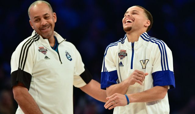 Stephen Curry has made more 3s than his father already. (USATSI)