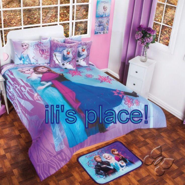 Twin and Full Girls and Teens Disney Frozen Comforter Set #Disney