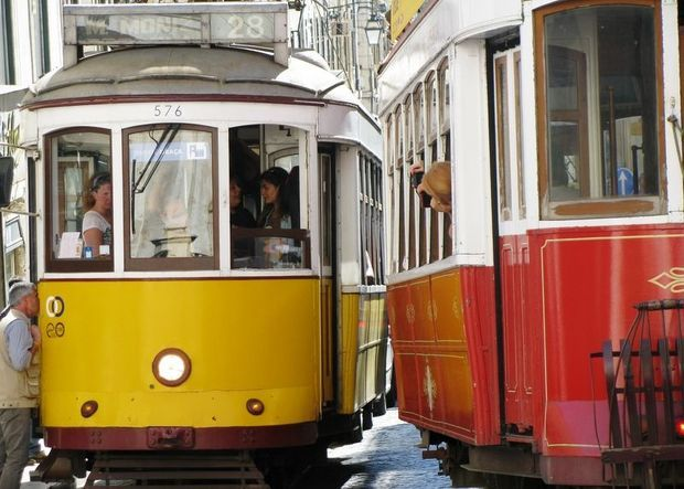 Une pause tramway entre deux balades