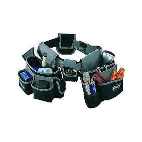 Raaco 5 piece padded tool belt pouch/tool holder set^
