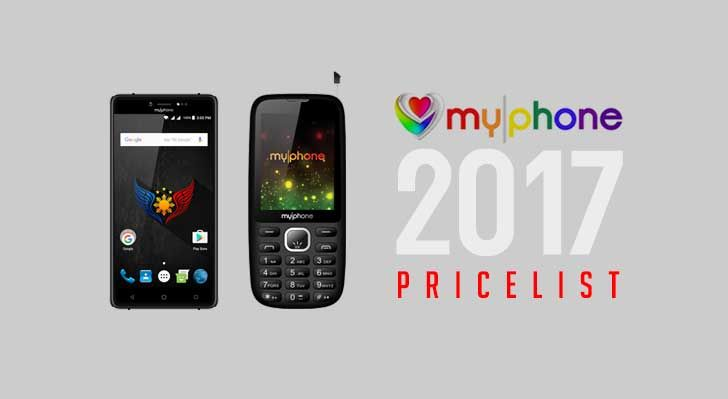MyPhone Price List 2017: Smartphone with DTV and Feature Phones