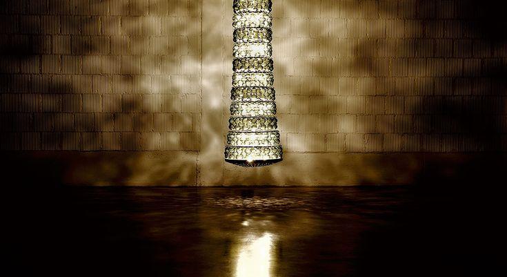 Fra. Hand made murano glass chandelier