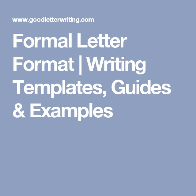Formal Letter Writing Pinterestu0027te Word walls ve Ingilizce - formal letter