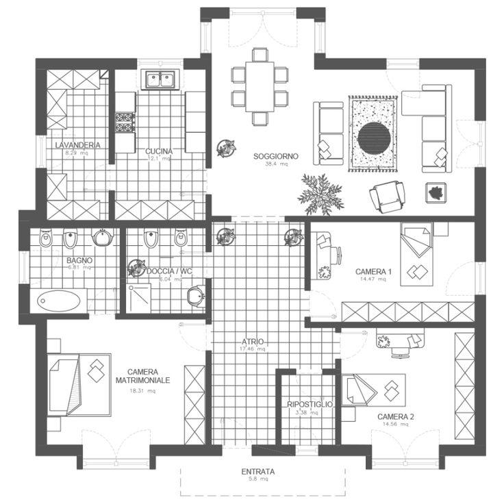 Oltre 25 fantastiche idee su case da un livello su for Moderni piani di case ranch sollevate