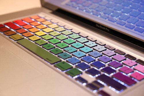 laptop decal macbook keyboard sticker macbook pro by youyoudecal, $11.99