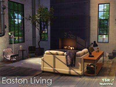 The Sims 4 by Kasia: Salon przemysłowy