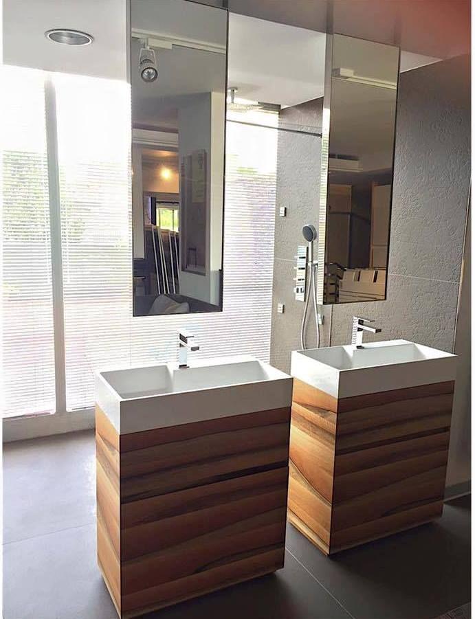 Oltre 25 fantastiche idee su Doppio lavandino del bagno su Pinterest  Doppio lavello vanità ...