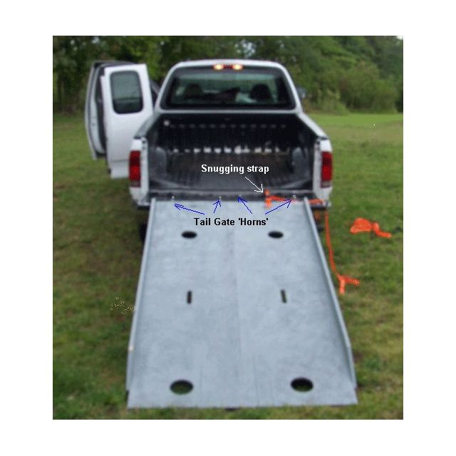 DIY Motorcycle Ramp | Bikercamps.com