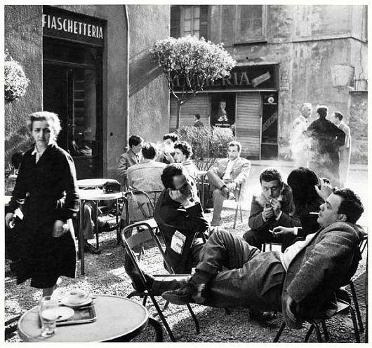 Lina Mainini, Alfa Castaldi, Arturo Carmassi e Cesare Peverelli Bar Jamaica