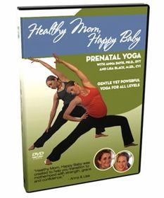 http://www.fairhavenhealth.com/prenatal-yoga-dvd.html# Healthy Mom, Happy Baby - Prenatal Yoga DVD. $19.95