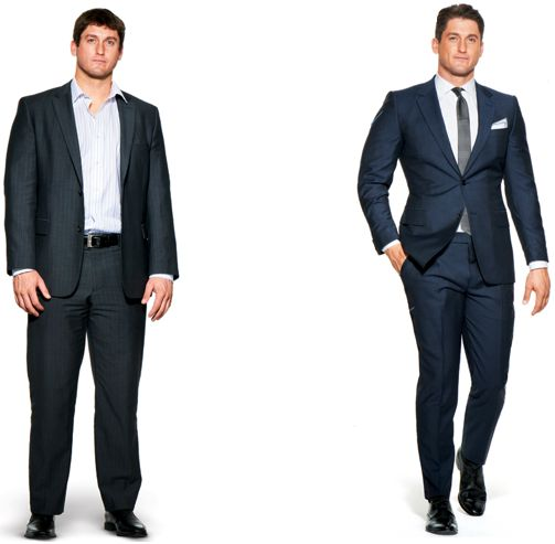 ... can be altered more easily, Always expect to get an OTR suit altered