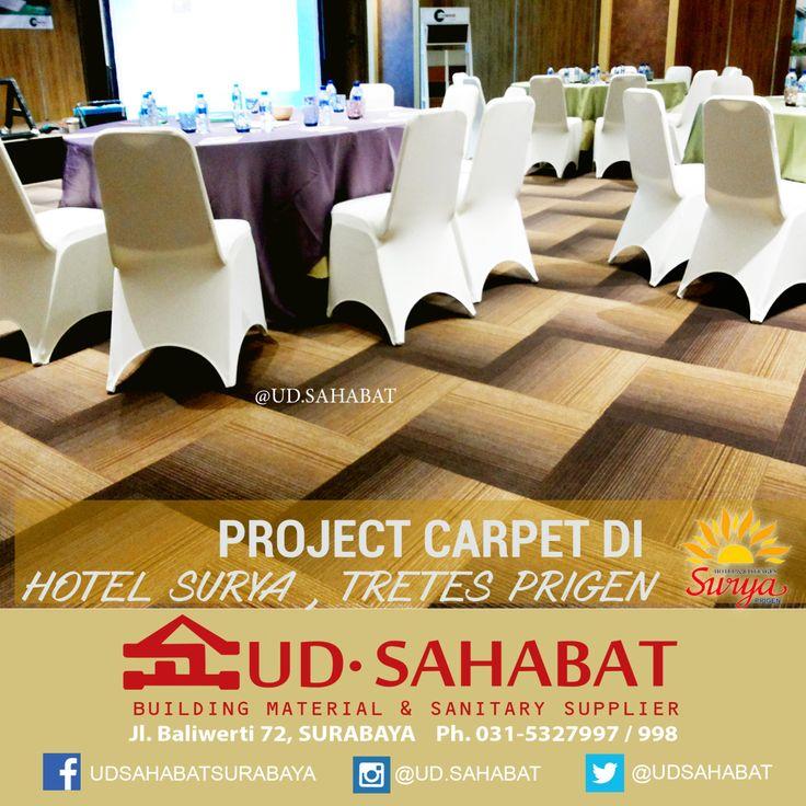 """"""" Pusat Karpet tile di Surabaya , UD Sahabat Surabaya Kami menyediakan berbagai jenis karpet dengan ratusan motif dan corak warna modern yang berbeda serta ketebalan dengan kualitas terbaik. Kami menyediakan pula karpet tile TERBARU - karpet..."""