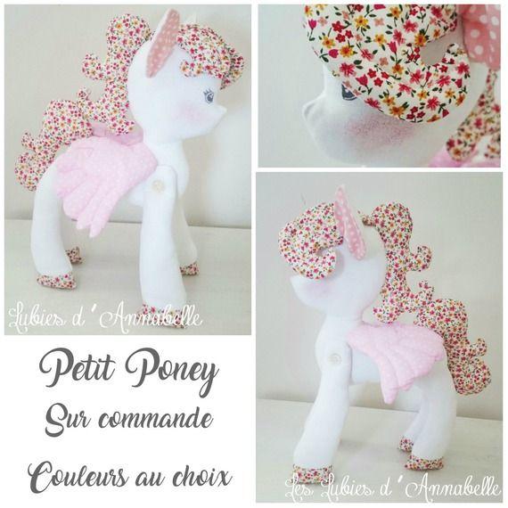 doudou b b enfant licorne ou poney little poney cadeau pas cher pinterest licornes. Black Bedroom Furniture Sets. Home Design Ideas
