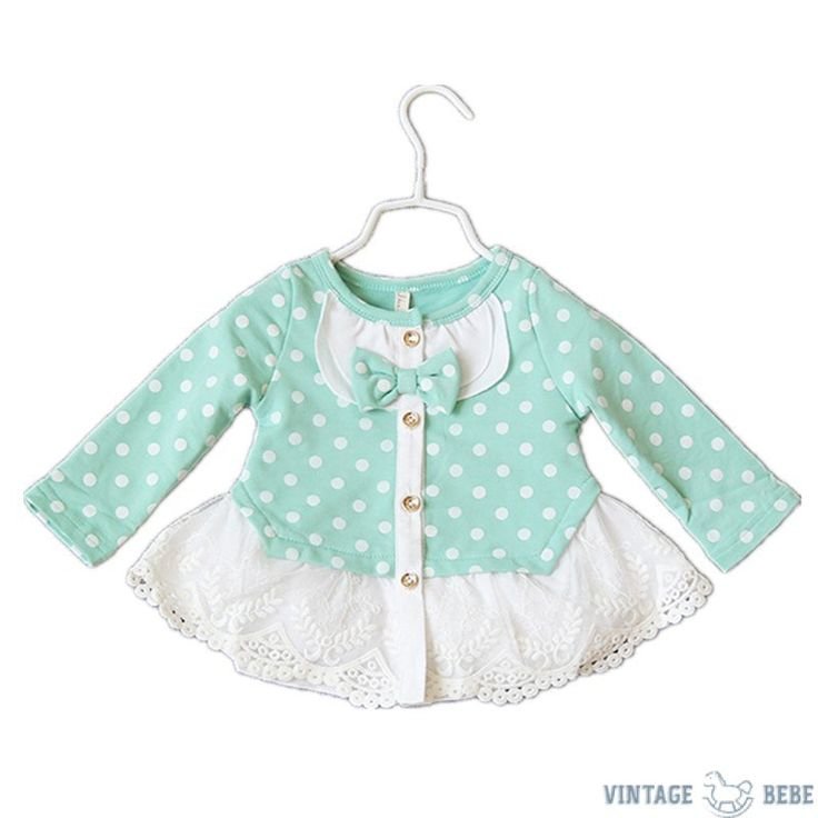 Baby Girl Polka dot Cardigan
