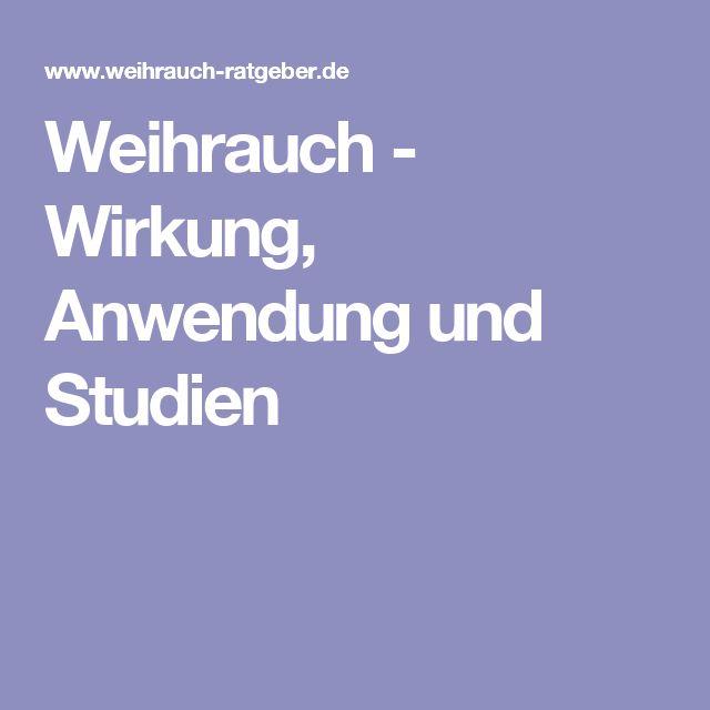 Weihrauch - Wirkung, Anwendung und Studien