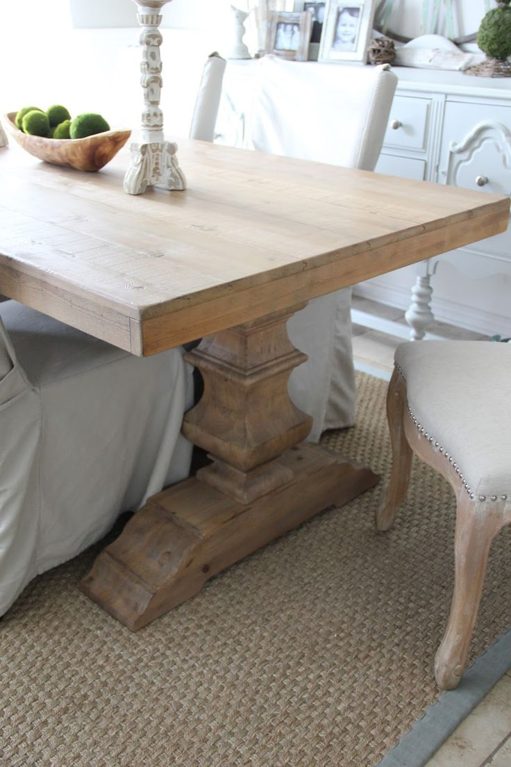 Pottery Barn Banks Dining Table