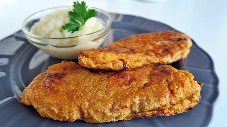 Íme az újragondolt rántott hús burgonyapürével kombó - Receptek | Ízes Élet - Gasztronómia a mindennapokra