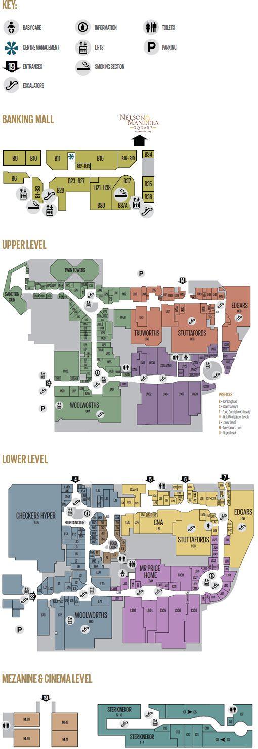 Floor Plans Sandton City Archi Stuff