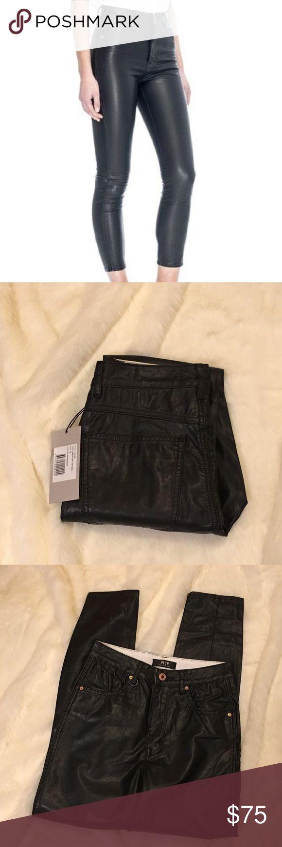 NWT Neuw Marilyn Skinny Cropped Faux Leather Pants NWT Neuw Marilyn Skinny Cropped Faux Leather Pants Neuw Pants Skinny