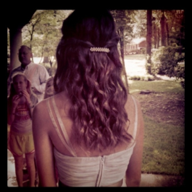Hairstyles For Eighth Grade Dance : Best images about th grade dance hairstyles on