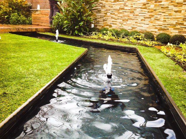 153 mejores im genes sobre fuentes de agua en pinterest for Jardines pequenos redondos