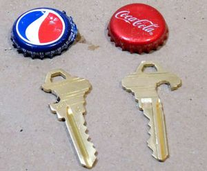 Carve a Bottle Opener into Your House Key for Pocket-Friendly Drink Liberation