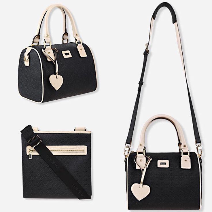 Vakko Monogram Serisi El ve Postacı Çantaları #vakko #moda #çanta #çantamodelleri #bag #black #siyah