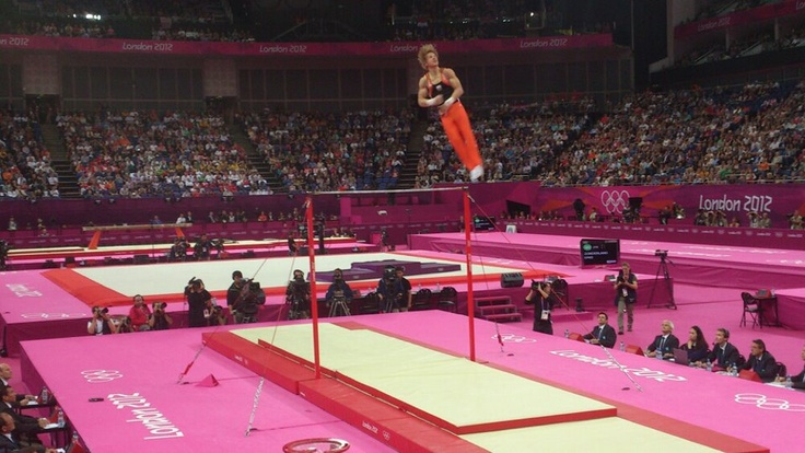 "Epke Zonderland ""the flying dutchman"""