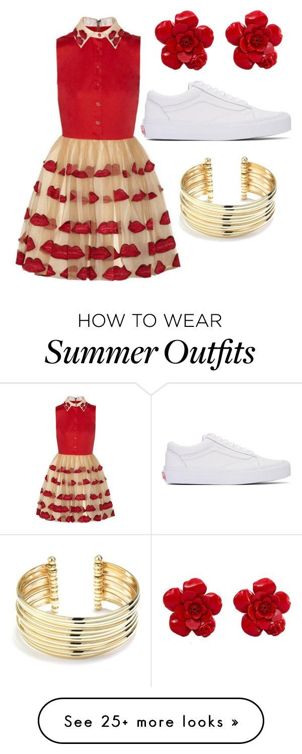 """Collection Of Summer Styles    """"First Date Outfit """" by ara-riyanto on Polyvore featuring Vans, Chanel and Belk Silverworks    - #Outfits"""