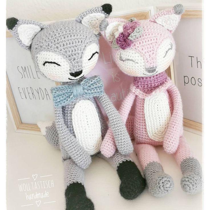 Felix und Finja ?? #wolltastischhandmade #wolltastisch#handmade #crochet#a… – Heather Leonard