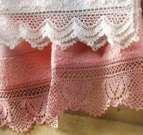 Barras de crochê para imprimir e fazer em casa