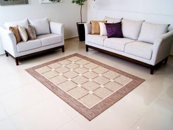 Tapete para Quarto/Sala Sisal Look - Pedras Preciosas Esmeralda 200x250cm - Rayza