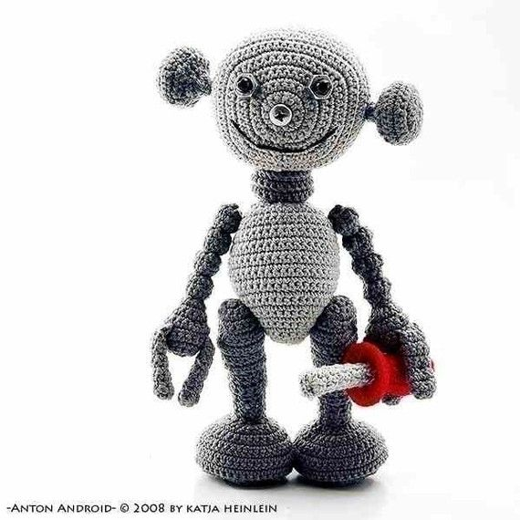 Free Amigurumi Robot Pattern : 77 best images about Crochet - Robots ! on Pinterest ...