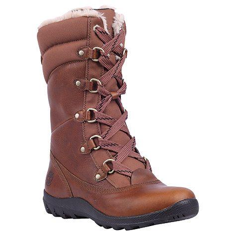 Buy Timberland Mount Hope Waterproof Calf Boots, Tobacco Online at johnlewis.com